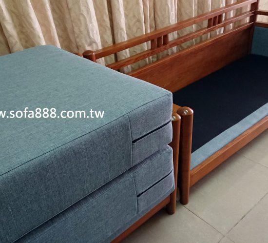 實木沙發修理,椅墊訂做